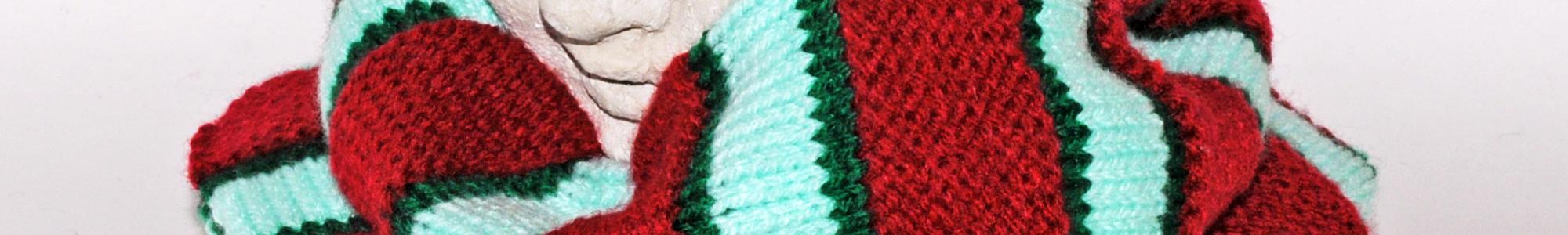 Die Original schlamuetz, getragen als Schal